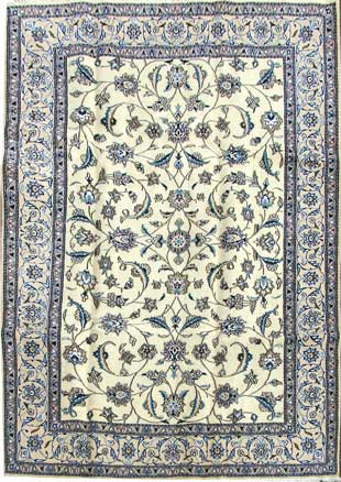 A beautiful unique Handmade Nain Carpet for only £2750.-