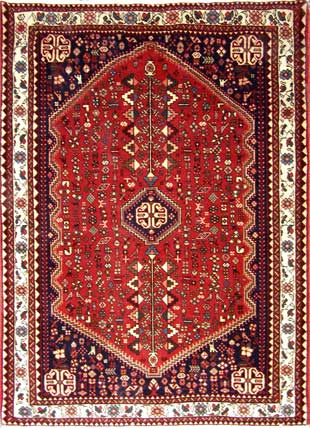 Beautiful handmade Abadeh Rug, only £1200.-