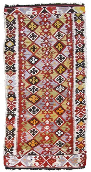 Beautiful Anatalian (Turkish) Kelim for only £975.-