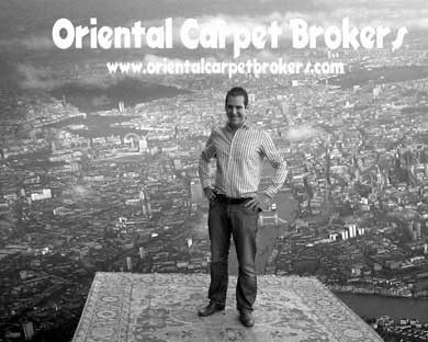 call The Oriental Carpet Brokers Team on  020 7091 9944