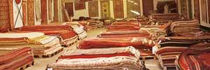 Oriental Carpet Brokers warehouse Vauxhall London